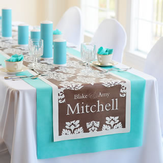 wedding table runners